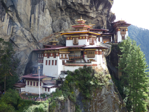 Ikona Bhútánu - Taktsang
